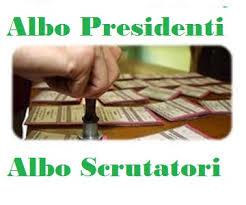 AGGIORNAMENTO ALBO PRESIDENTI DI SEGGIO E SCRUTATORI